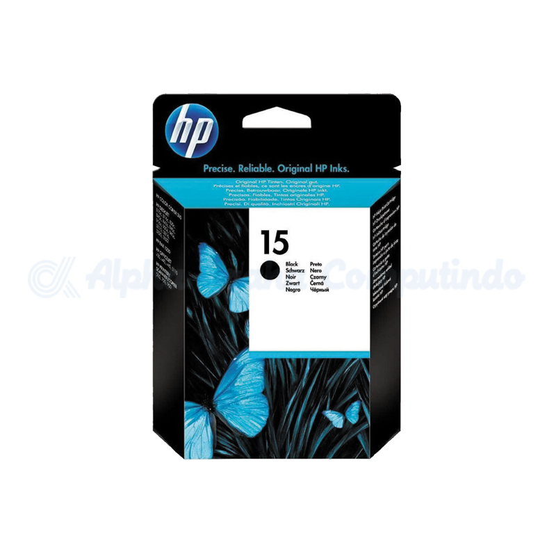 HP 15 Black Ink Cartridge [C6615DA]