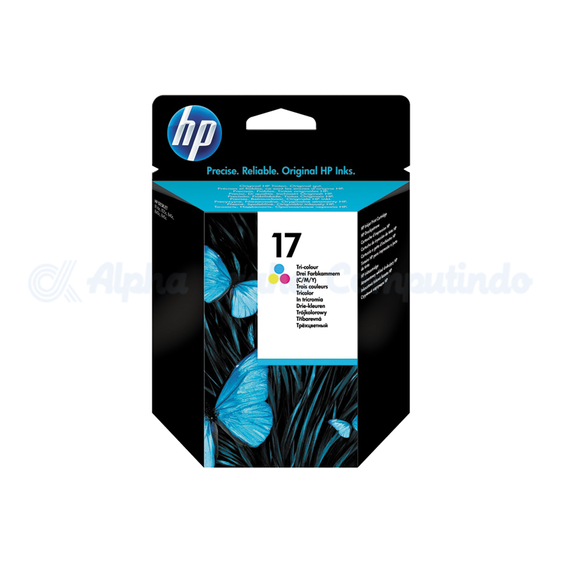 HP 17 Tricolor Ink Cartridge [C6625A]
