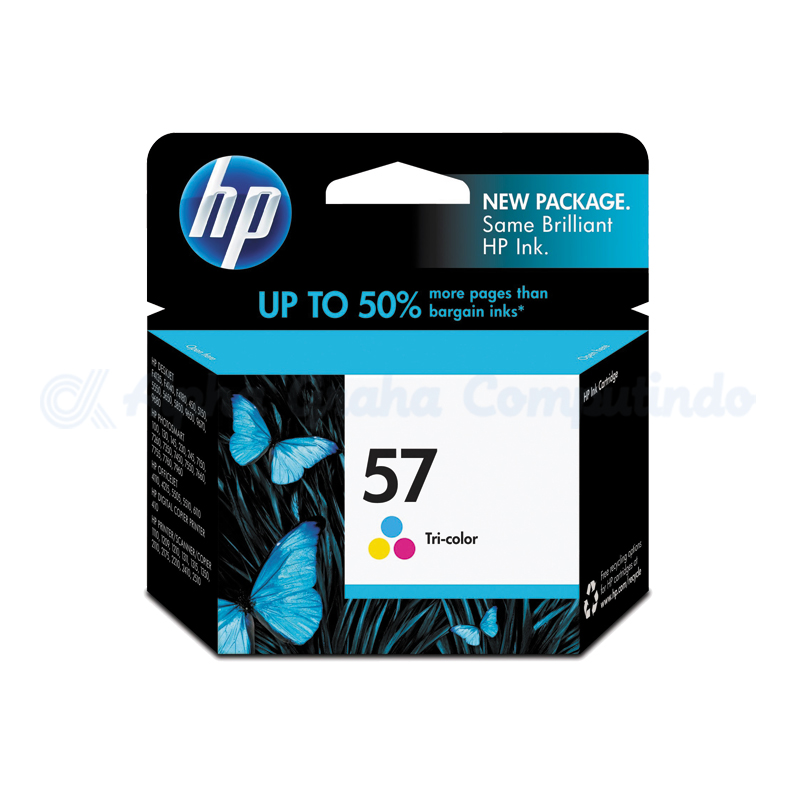 HP 57 Tri-color Ink Cartridge [C6657AA]