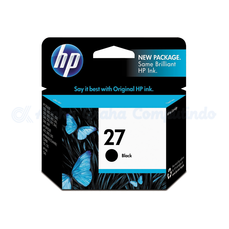 HP 27 Black Ink Cartridge [C8727AA]