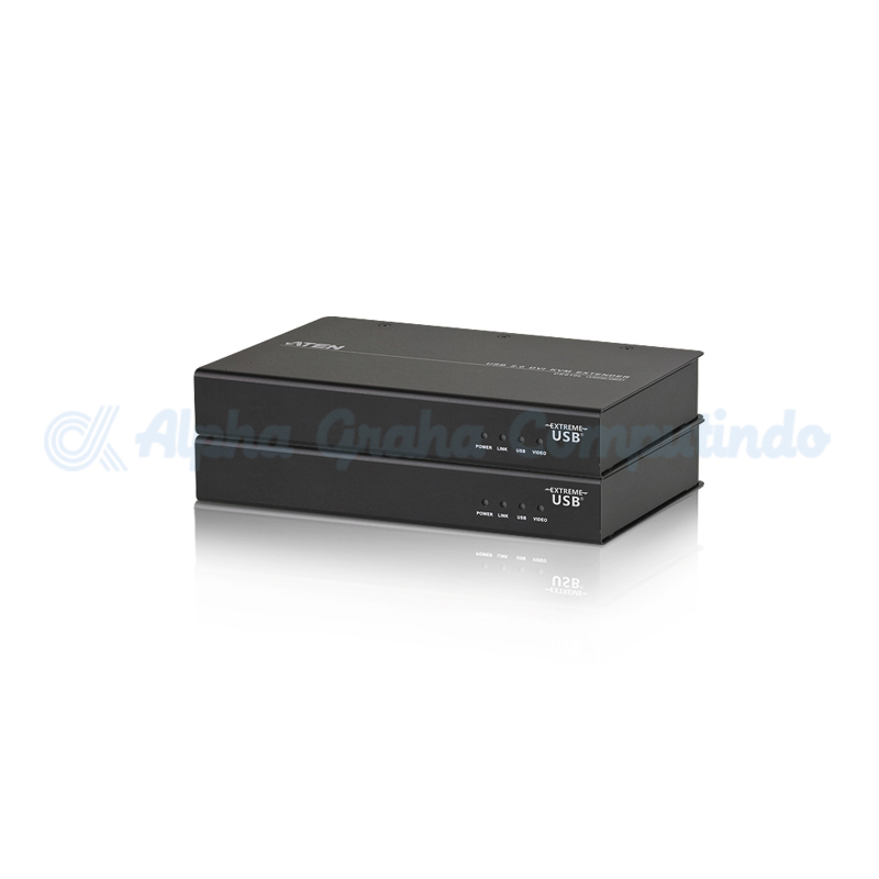 ATEN  DVI HDBaseT KVM Extender with ExtremeUSB (1920 x 1200@100m) [CE610A-AT-G]