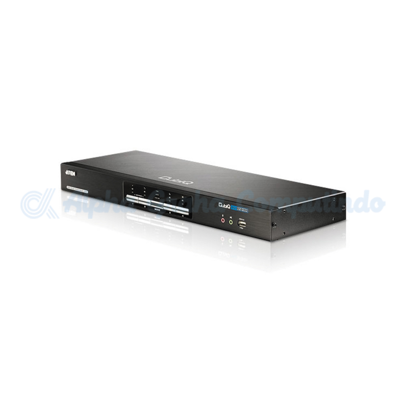 ATEN 4-Port USB 2.0 DVI Dual View KVMP Switch [CS1644]