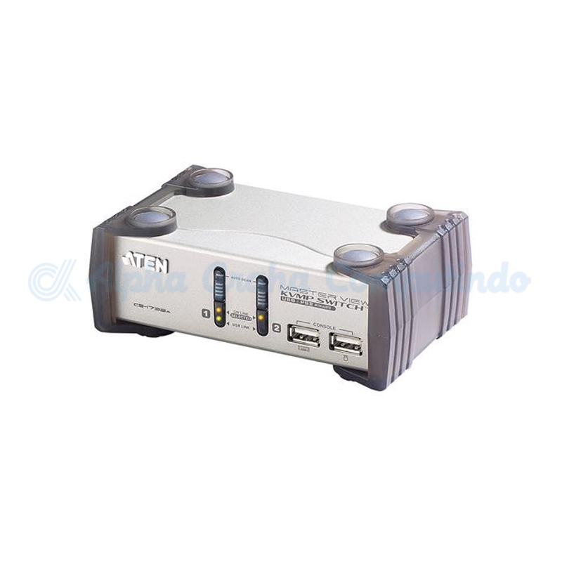 ATEN 2-Port PS/2-USB VGA/Audio KVMP Switch [CS1732AC]