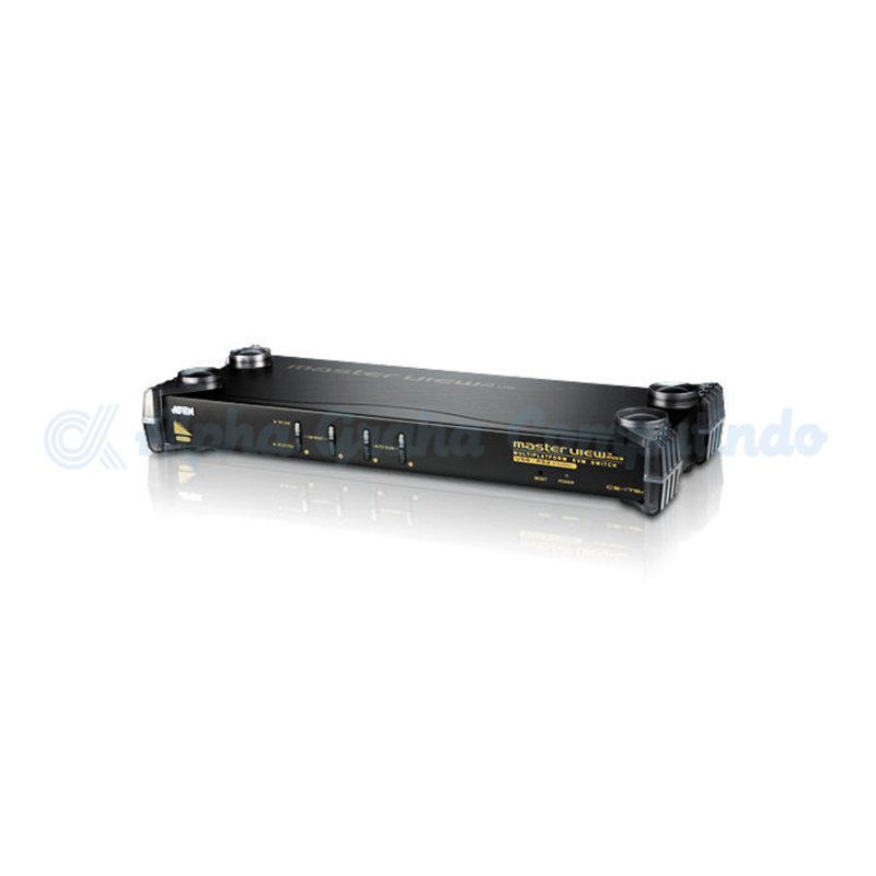ATEN  4-Port PS/2-USB VGA/Audio KVM Switch [CS1754Q9] [CS1754Q9]