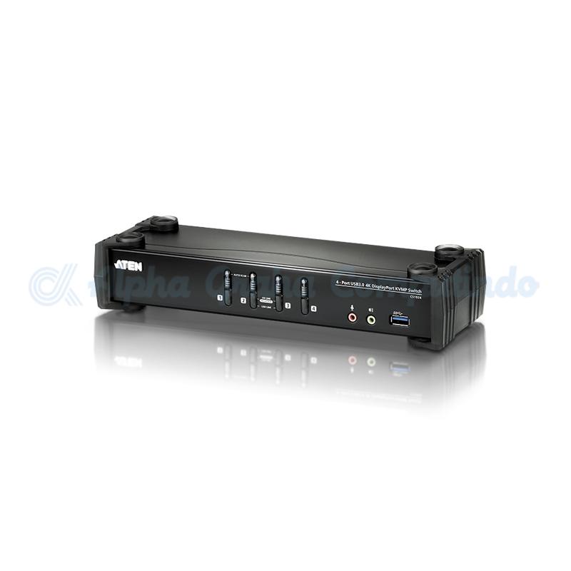 ATEN 4-Port USB 3.0 4KDisplayPort KVMP