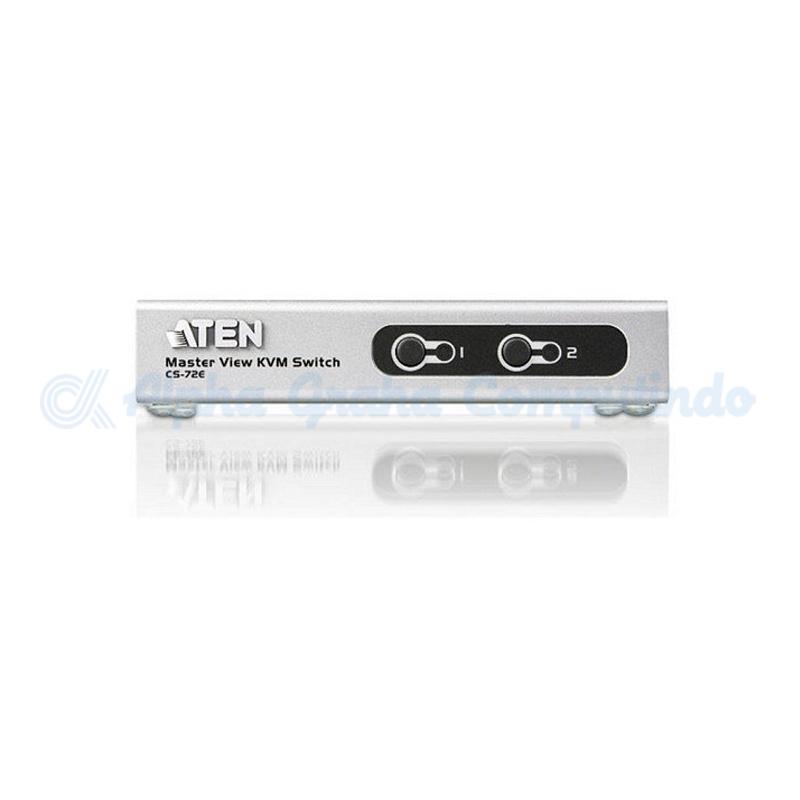 ATEN  DESKTOP SLIM PS/2 & USB KVM [CS72E]