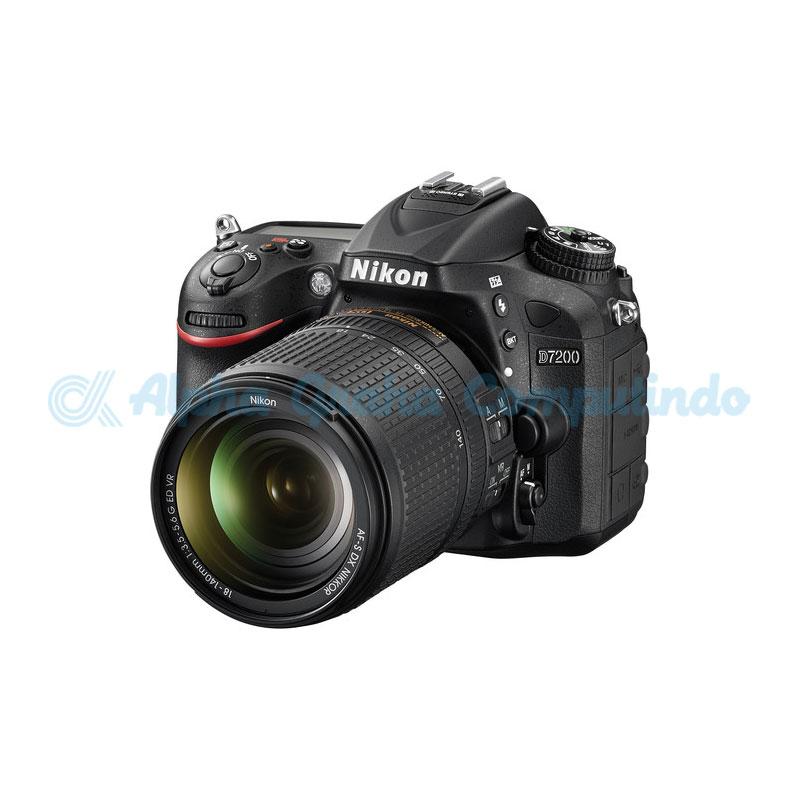 NIKON  D7200 Kit AF-S 18-140mm VR