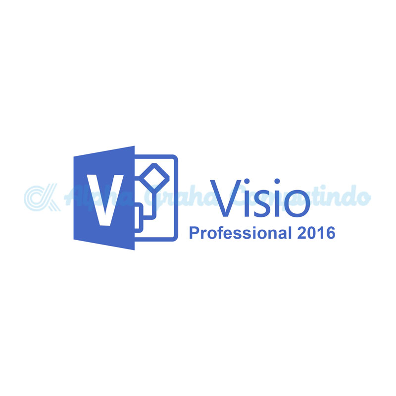 Microsoft  [Visio Professional]Visio Professional 2016 Government OLP 1License NoLevel [Government][D87-07302]