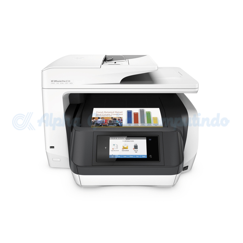 HP  OfficeJet Pro 8720 All-in-One Printer [D9L19A]
