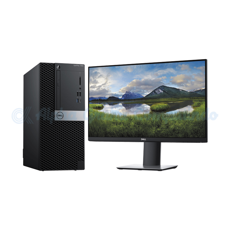 Dell Optiplex 7060 Mini Tower i7-8700 16GB 1TB SSHD [DOS]