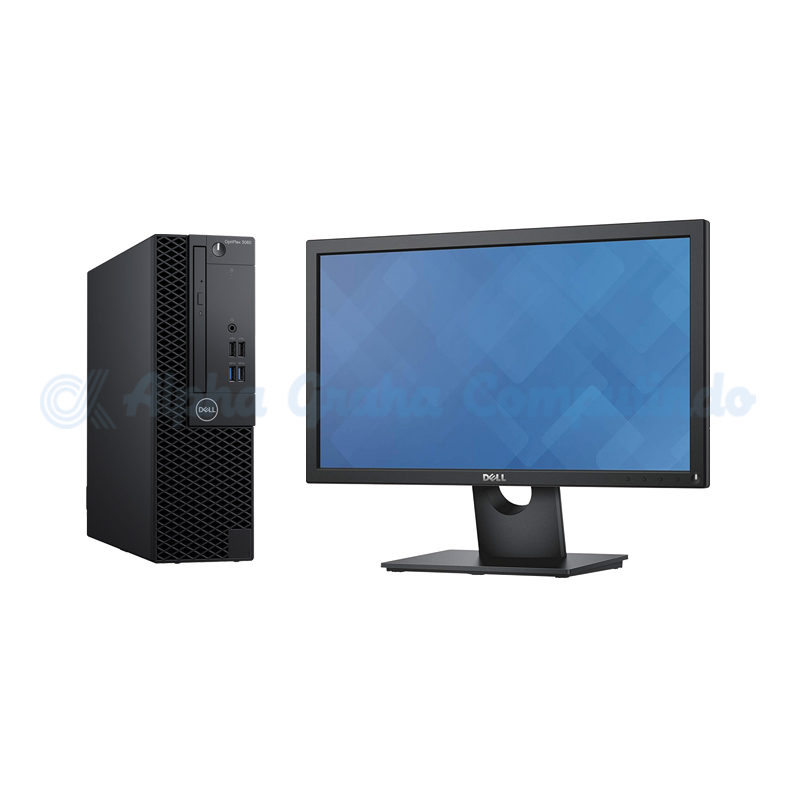Dell  OptiPlex 3060 SFF i3-8100 4GB 1TB 20-inch Monitor Ubuntu