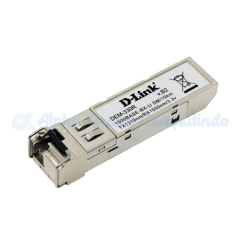 D-link 1-port mini-GBIC 1000Base-LX SMF WDM SFP Tranceiver (up to 10km) [DEM-330R]