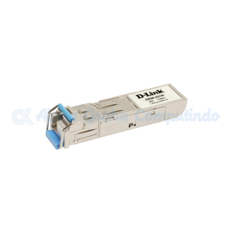 D-link 1000Base-BX-U SFP Transceiver (Singlemode TX-1310/RX-1550nm) - 40km [DEM-331R]