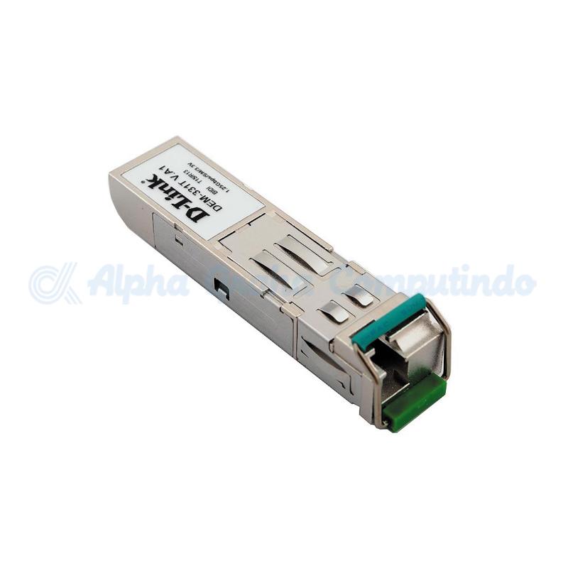 D-link 1000Base-BX-D SFP Transceiver (Singlemode TX-1550/RX-1310nm) - 40km [DEM-331T]