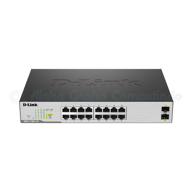 8-port 10/100/1000Mbps Unmanaged Switch (plastic)  (DGS-1100-18/EA)