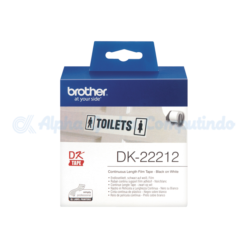 BROTHER Continuous Length Film White Tape [DK-22212]