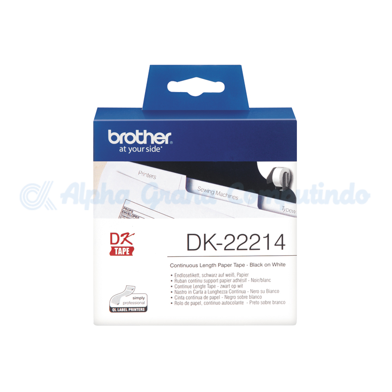 BROTHER Continuous Length Paper Tape [DK-22214]