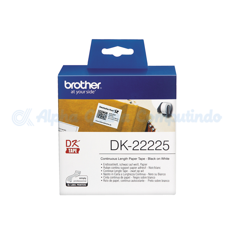 BROTHER    Countinuous Length Paper [DK-22225]