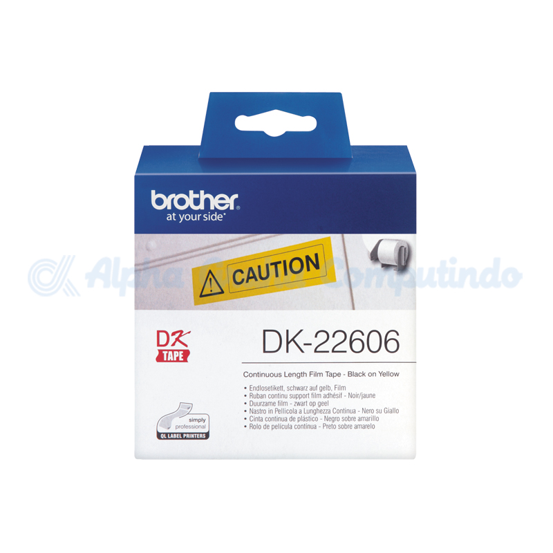 BROTHER    Continuous Length Film Yellow Tape [DK-22606]