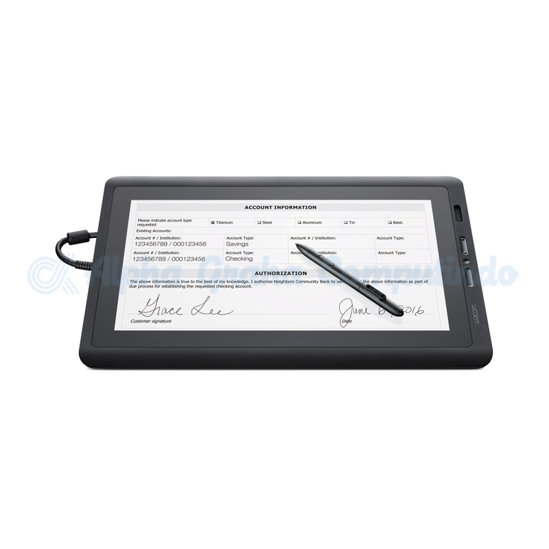 WACOM  LCD Display Tablet 16 Inch [DTK-1651/K0-CX]