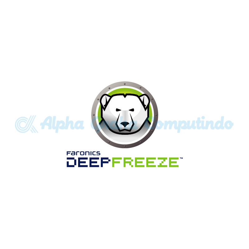 Faronics   Deep Freeze Server Standard Lisensi Perpetual Single Node + Pemeliharaan (Updates) 1 Tahun