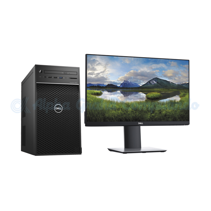 Dell  Precision Tower 3630MT E-2174G 8GB 1TB Quadro P620 Win10 Pro 21.5-inch Monitor