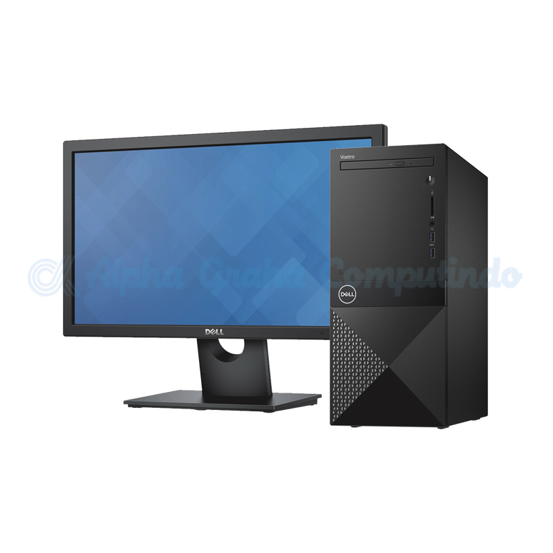 Dell  Vostro 3670 Desktop i3-9100 4GB 1TB Win10 19.5-inch Monitor