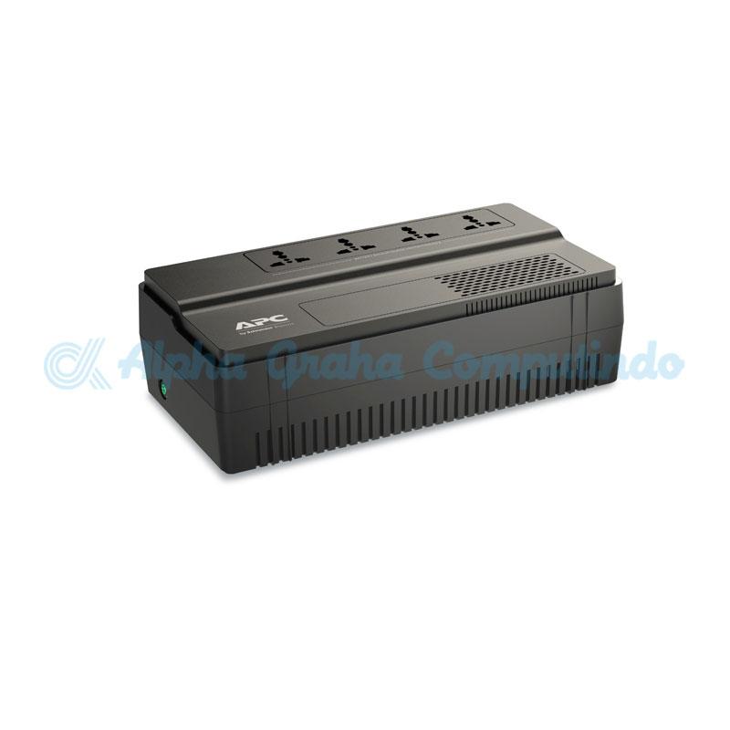 APC  EASY UPS BV 1000VA, AVR, Universal Outlet, 230V [BV1000I-MS]