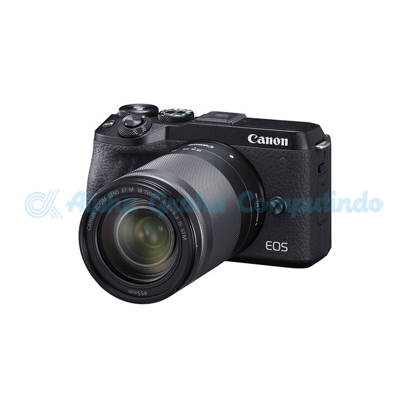 Canon EOS M6 Mark II Black with EF-M 18-150mm [EOSM6IIL150B]