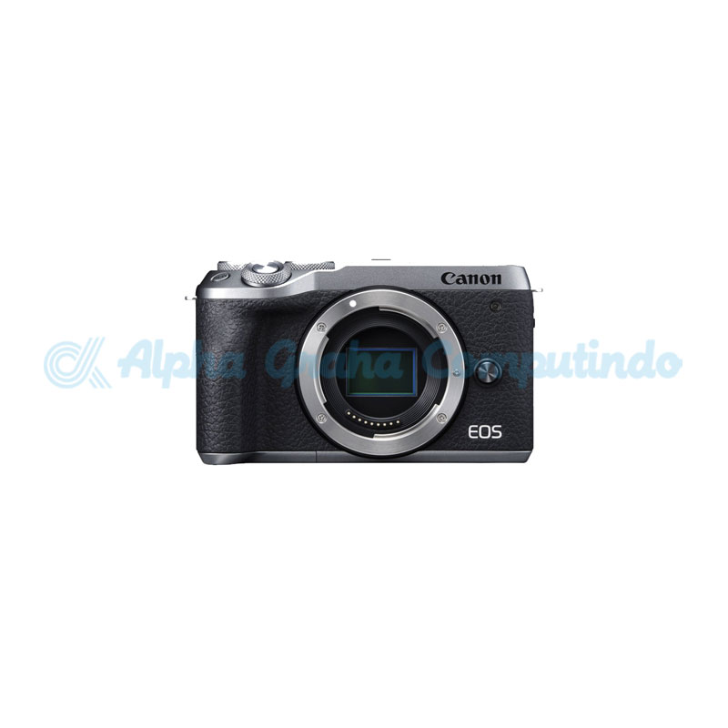 Canon EOS M6 Mark II Silver Body Only [EOSM6IIS]