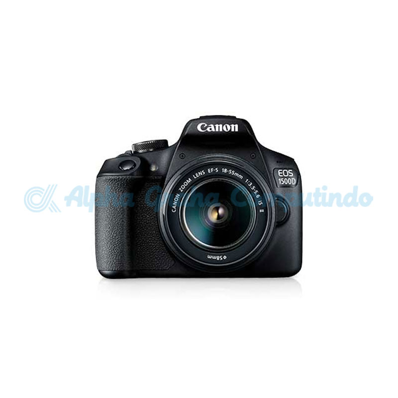 Canon  Digital EOS 1500D with lens 18-55mm IS II