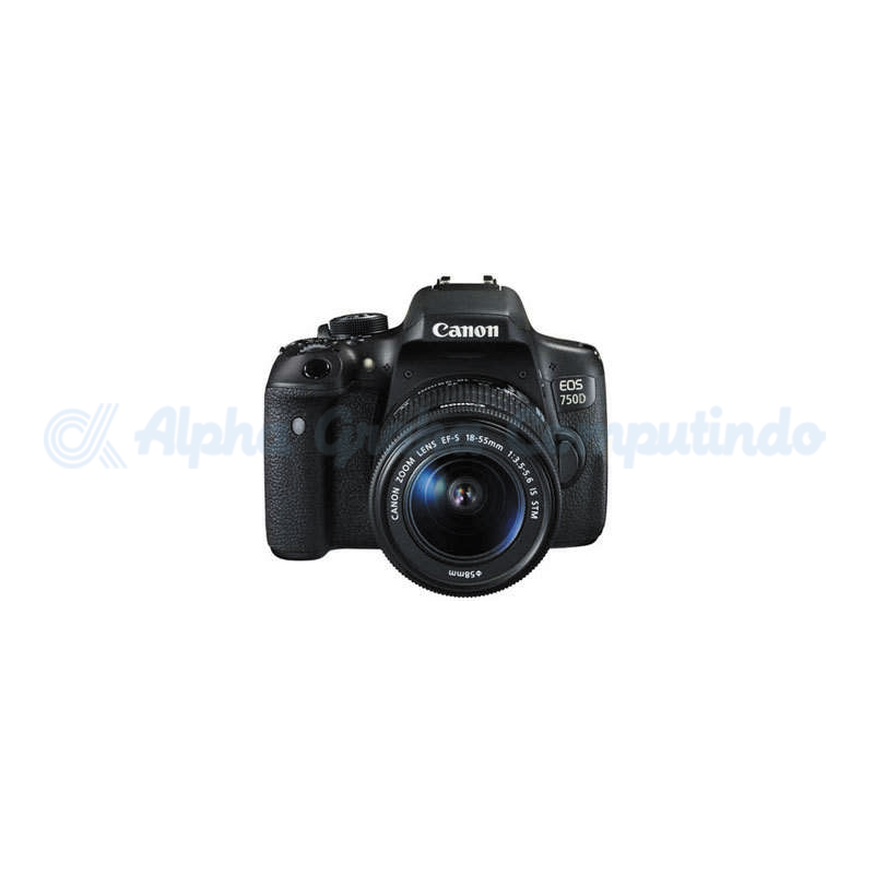 Canon  Digital EOS 750D w/ lens 18-55mm STM Wifi