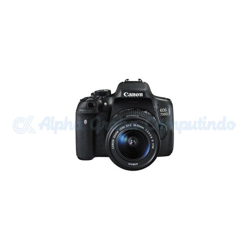 Canon Digital EOS 750D w/ lens 18-55mm STM Wifi