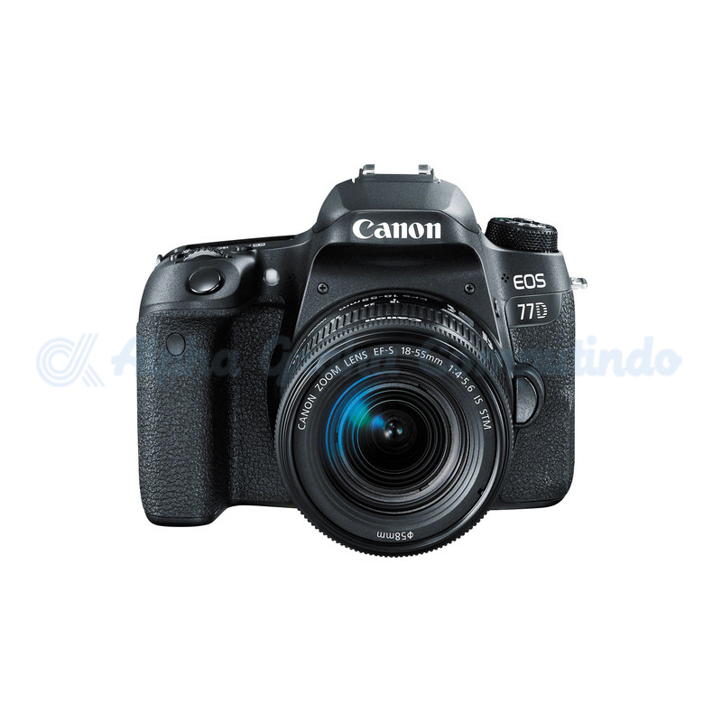 Canon  Digital EOS 77D with lens 18-55mm [EOS77DL]