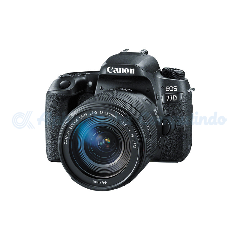 Canon  Digital EOS 77D with lens 18-135mm [EOS77DL135]