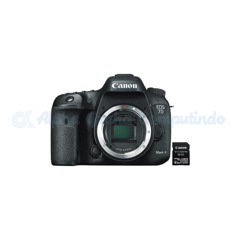 Canon  Digital EOS 7D Mark II Body Only + W-E1 [EOS7DIIW]