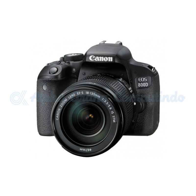 Canon  Digital EOS 800D with lens 18-135mm [EOS800DL135]
