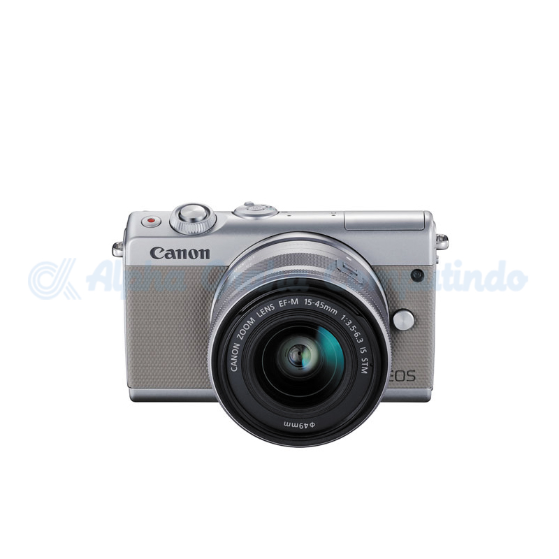 Canon EOS M100 Grey with EF-M15-45mm [EOSM100-G1]