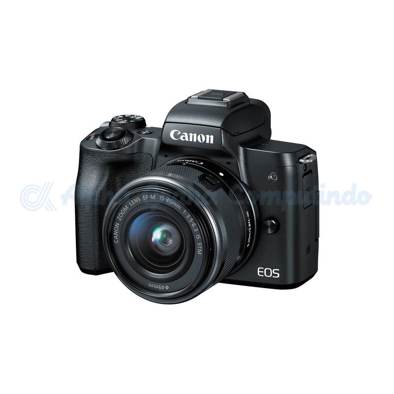 Canon  EOS M50 EF-M15-45mm/55-200mm Black [EOSM50L200B]