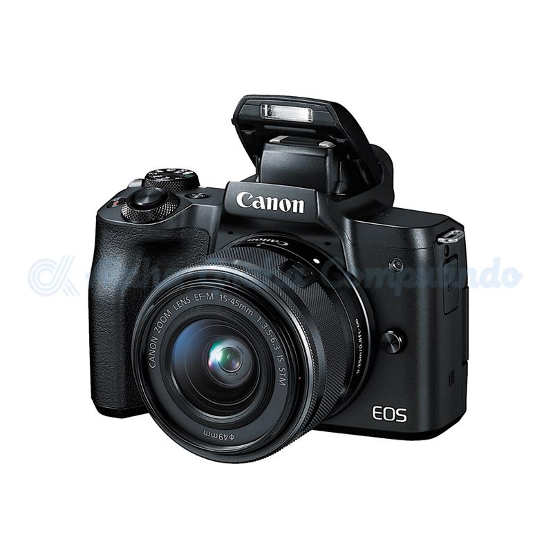 Canon  EOS M50 EF-M15-45mm Black [EOSM50LB]