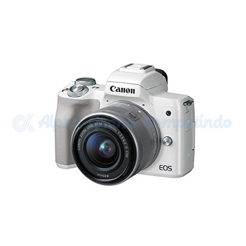 Canon  EOS M50 EF-M15-45mm White [EOSM50LW]