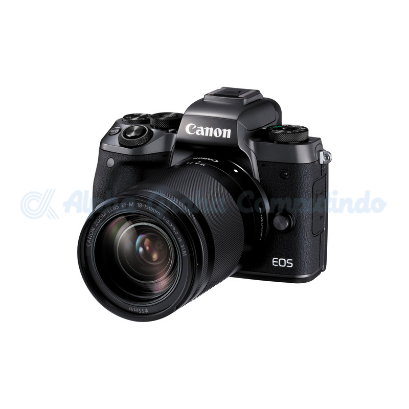 Canon EOS M5 with EF-M 18-150mm [EOSM5L150]