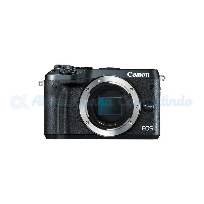 Canon  EOS M6 Black Body Only [EOSM6B]