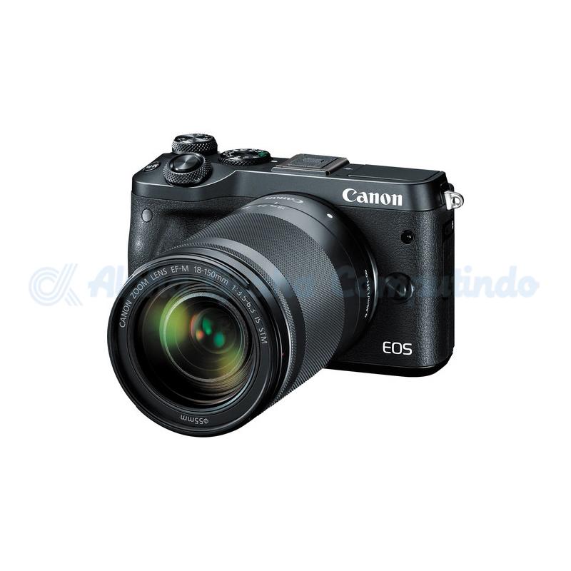 Canon  EOS M6 Black with EF-M 18-150mm [EOSM6L150B]