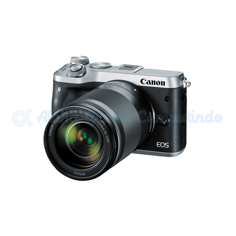 Canon  EOS M6 Silver with EF-M 18-150mm [EOSM6L150S]