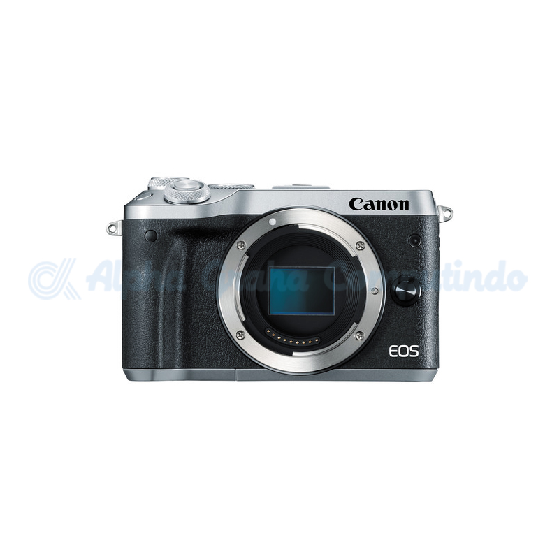 Canon EOS M6 Silver Body Only [EOSM6S]