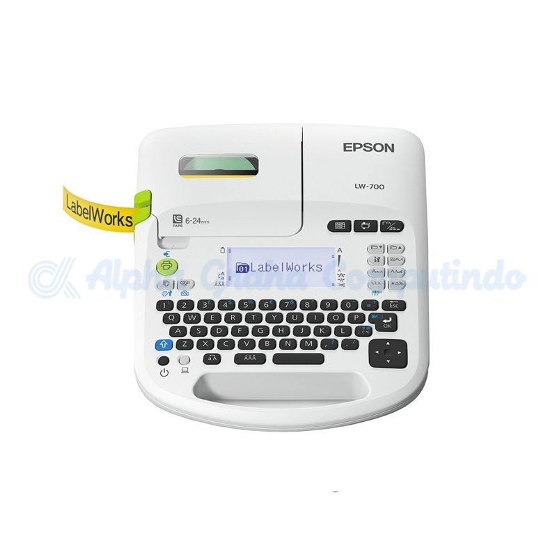 EPSON  LabelWorks LW-700 PC-Connectable Label Printer [C51CA63090]