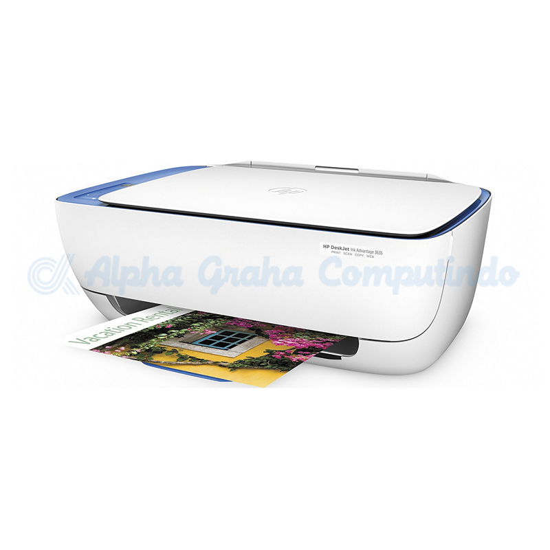HP DeskJet Ink Advantage 3635 All-in-One Printer [F5S44B]
