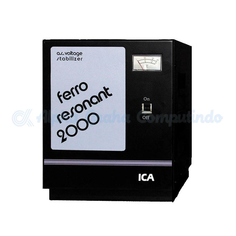 ICA   Ferro Resonant FR Series Capacity 2000 VA (FR 2000)