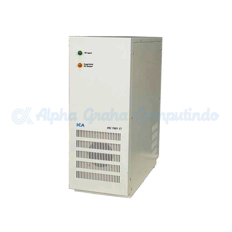 ICA   Ferro Resonant Control FR c Series Capacity 7,5 KVA (FRc 7501C1)